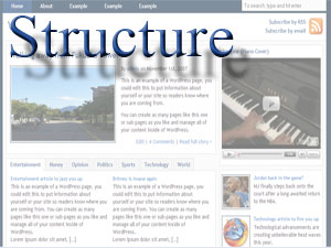Wordpress Structure Theme