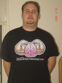 Fat Man Unleashed T-Shirt